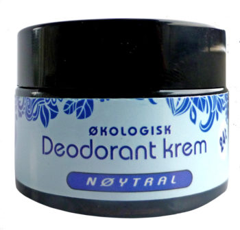 Deodorant krem, Nøytral