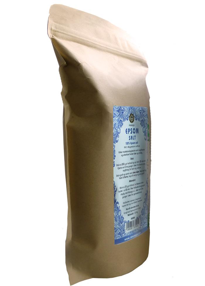 Epsom salt naturell 1,8 kg