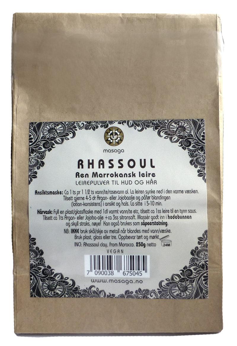 Rhassoul leire 250g refill