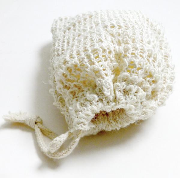 Såpepose av sisal
