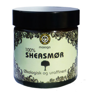 100 % Sheasmør, Økologisk og uraffinert