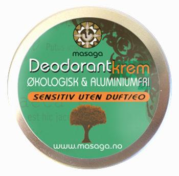 Deodorant krem, Sensitiv