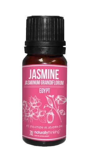 Jasmin eterisk olje 5% i Jojobaolje