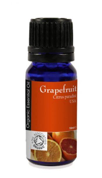 Grapefrukt 100% eterisk olje, øko