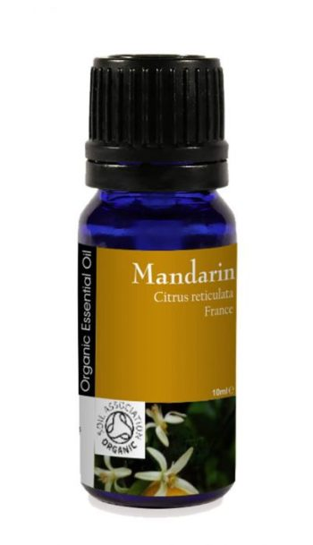 Mandarin 100% eterisk olje, øko